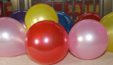 100pcs Round Balloon Decorate Birthday Balloon Toy for Children Random Color