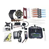 Full Set RC Drone Quadrocopter 4-axis Aircraft Kit F450-V2 Frame GPS APM2.8 Flight Control Camera Gimbal PTZ