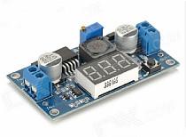 F08253 DC-DC Boost Converter Step Up Voltage Digital Doltmeter Display LM2577 Power Supply Module 3A Output