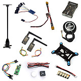 10 in 1 PX4 PIX 2.4.8 32 Bit Flight Controller+M8N GPS+OSD+915MHZ Telemetry Kit + I2C + Shock +PPM+LED Module