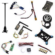 10 in 1 PX4 PIX 2.4.8 32 Bit Flight Controller+M8N GPS+OSD+915MHZ Telemetry Kit + I2C + Shock +PPM+LED Module