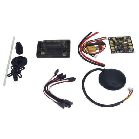 APM2.8 ArduPilot Flight Control with Compass,6M GPS,Power Distribution Board, GPS Folding Antenna for DIY FPV RC Drone