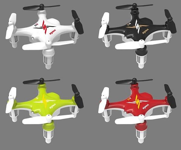 1 Pcs Syma X12 Nano Explorer 6-Axis Gyro RC Quadcopter RTF 2.4GHz Toys For Chinldren