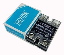 Hoymk SSR-10AA 10A 80-280V AC to 24-480V AC SSR 10AA Single Phase Solid State Relay