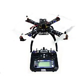 4-Axis Assembled RC Helicopter with APM2.8 Flight Control+FS-i6 6CH Transmitter+6M GPS with Compass