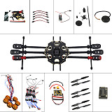 Helicopter Drone 6-axis Aircraft Kit Tarot 680PRO Frame 700KV Motor GPS APM 2.8 Flight Control No Battery Transmitter