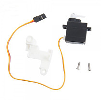 1Set High Quality Feilun FT009 RC Boat Speedboat Spare Parts Steering Gear Component Servo with Fixed Cover FT009-14