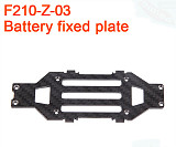 Walkera F210 RC Helicopter Quadcopter spare parts F210-Z-03 battery holder board Fixed Plate