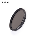 FOTGA Adjustable 43-67mm Reducing Light Lens Medium Gray Filter For DSLR Camera
