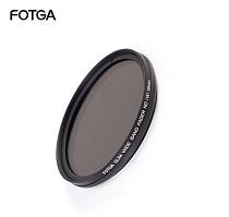 FOTGA Adjustable 43-67mm Reducing Light Lens Medium Gray Filter For DSLR Camera