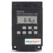 SINOTIMER 12V Fully Automatic Bell ring Time controller for Street Lamp stage Radio Equipment