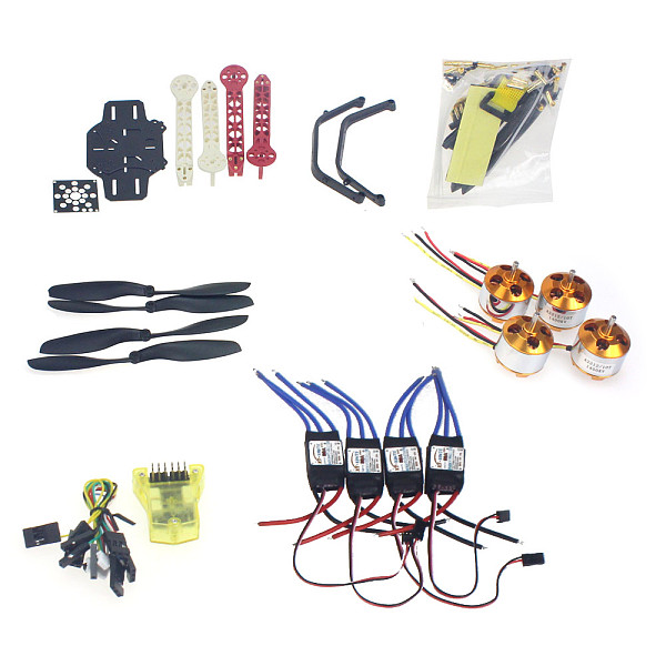 RC Drone Quadrocopter 4-axis Aircraft Kit F330 MultiCopter Frame MINI CC3D Flight Control No Transmitter No Battery