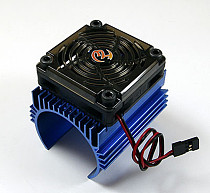 Hobbywing 1: 8 Car Motor Radiator + 5V Cooling Fan for 4465 Motor