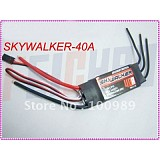 Wholesale F01846 SKYWALKER 40A Build-in BEC 2A Brushless Speed Controller ESC For TREX 450 400 RC Helicopter