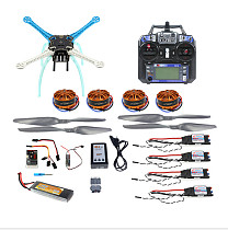 DIY Drone Multicopter 500mm Multi-Rotor QQ Super Flight Controller with 700KV Motor 30A ESC 6CH 9CH Transmitter F08191-P