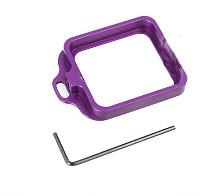 CNC Aluminum Lanyard Ring Lens Mount Set Purple for Gopro Hero3+ Hero 3 Plus GITUP GIT1 GIT2