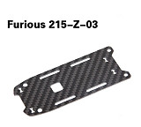 Walkera Furious 215-Z-03 Battery Fixing Plate Carbon Fiber Board for Walkera Furious 215 FPV Racing Drone Quadcopter Air