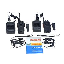 Walkie Talkie 2 Way Radio Long Range BaoFeng 16CH BF-888S UHF 400-470 MHz
