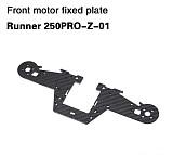 Walkera Front Motor Fixed Plate Runner 250PRO-Z-01 for Walkera Runner 250 PRO GPS Racer Drone
