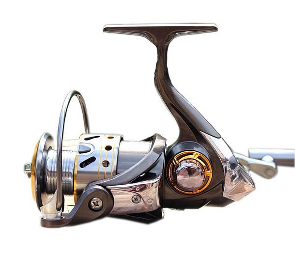 S01169 Diaodelai DK12+1 Cnc Metal Folding Rocker Fishing Vessel Spinning Reel Fishing Gear Collapsible Handle DK-4000