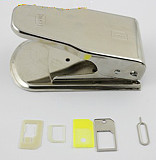 Micro SIM Card Dual Cutter For iPhone 5 4 4S ipad mini With Adapter Tray Eject Pin
