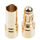 1Pair Thick Gold Plated 3.5mm Bullet Connector ( banana plug ) For ESC battery