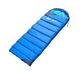 Primitive Envelope Hiking Ultralight Sleeping Bag Length 190+30cm Thick Warm Waterproof Sleep Bag for Single Adult