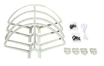 4pcs Quick Release Propeller bumper protection Guard Cover for DJI Phantom 1 2 3 RC Helicopter Drone UAV