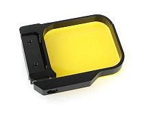 Yellow Color Light Motion Night UnderSea Underwater Diving Lens Filter For GoPro Hero 3 Camera