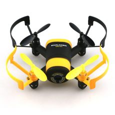 JXD 512W JXD512W 2.4Ghz WiFi FPV Mini Drone One-Key-return & Headless Mode RC Quadcopter with 0.3MP HD Camera RTF