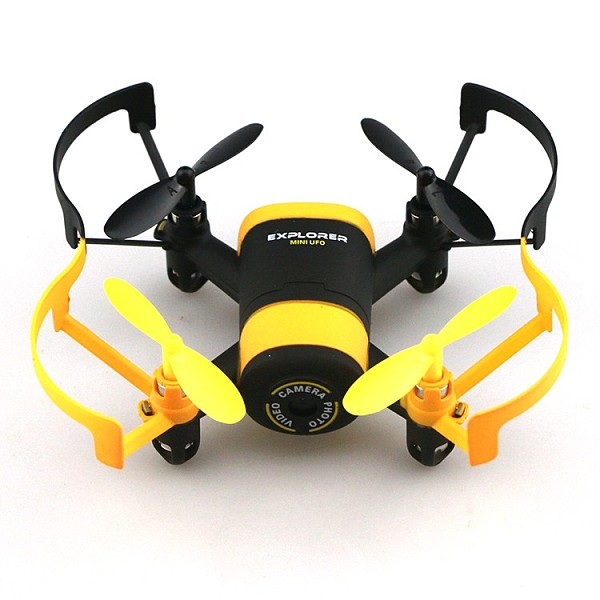 JXD 512W JXD512W 2.4Ghz WiFi FPV Mini Drone One-Key-return & Headless Mode RC Quadcopter with 0.3MP HD Camera RTF