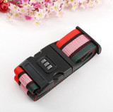 F09099 Travel Luggage Belt Suitcase Strap Secure Password Lock Safe Belt Strap Baggage Backpack Belt