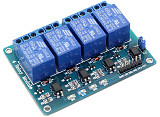 F05459 4 Channel 5V Relay Module 4 Road Relay Control Board With Optocoupler For ARM PIC AVR DSP Electronic