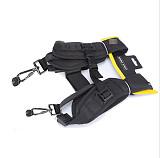 Generic Double Sling Quick Release Shoulder Neck Strap Belt with 1/4 Screw for Brand SLR DSLR Camera