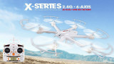 Black MJX X600 2.4G 6 Axis 3D Roll FPV Wifi Helicopter RC Drone Quadcopter UFO No Camera with Extra Props