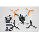 DIY Drone Upgraded Full Kit S500-PCB 1045 3-Propeller 4Axis Multi QuadCopter RTF/ARF with 10ch TX / RX 3300Mah Lipo