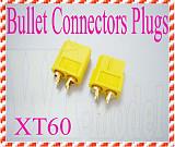 XT60 Bullet Connectors Plugs For RC Battery