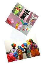 100pcs Thicken Balloon Magic Strip Decorate Birthday Balloon Toy for Children