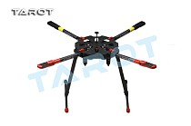 TAROT Drone X4 ALL Carbon Heli Kit with Retractable Landing Skid TL4X001
