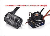 Hobbywing Combo EZRUN MAX10 60A Brushless ESC+3652SL G2 3300KV Waterproof Brushless ESC+3652SL G2 4000KV 5400KV Brushles