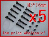 M3 x 16mm Nut & Screw, For Trex T-rex 450 main rotor holder set