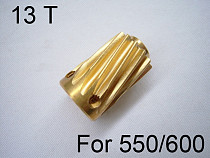 1 PCS Slant Thread Motor Gear 13T For Trex 550 600 Series RC Helicopter