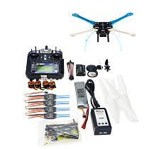 500mm Multi-Rotor Air Frame Full Kit S500-PCB DIY GPS Drone APM2.8 Flysky 2.4G FS-i6 Transmitter Motor ESC