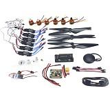 Necessity kits for 6-Aix RC Drone Heli 920KV Motor+30A ESC+1038 Props