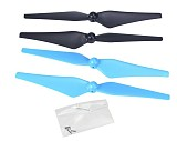 Nine Eagles NE401055 Main Rotor Propeller Propeller Props for Nine Eagles Visitor 6 F15 Quadcopter Drone UAV RTF Blue/Bl