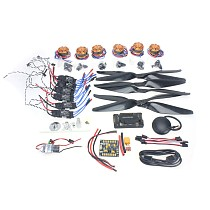 Necessity kits for 6-Aix RC Drone Heli 700KV Motor+30A ESC+1555 Props