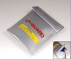 Fireproof Lipo Battery Safety Guard Charge Bag 300mmX230mm 30cmX23CM