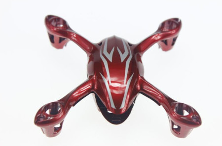 Original Hubsan X4 H107C RC Quadcopter Spare Parts Hubsan H107-a21 Body Shell  Color Red and Silver