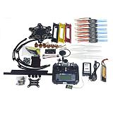 Full Set RC Drone MultiCopter 6-axis Aircraft Kit F550 Hexa-Rotor Air Frame GPS APM2.8 Flight Control Camera Gimbal PTZ