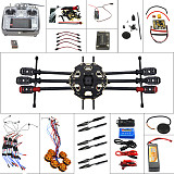 Full Set Helicopter Drone 6-axle Aircraft Kit Tarot 680PRO Frame 700KV Motor GPS APM 2.8 Flight Control AT10Transmitter